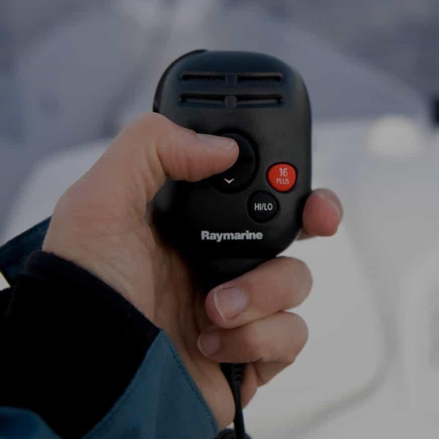 DSC/VHF-radio Kommunikationsudstyr ombord på båd