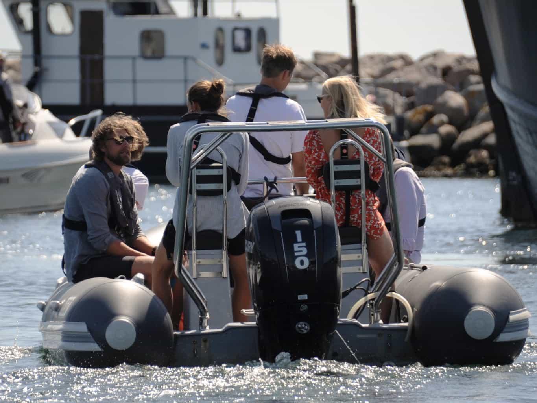 Forplejning, mad, taps på vores sejler kurser